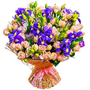Дизайнерский букет +30% цветов с доставкой в Чапаевске