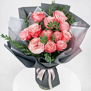Бизнес-букет +30% цветов с доставкой в Чапаевске